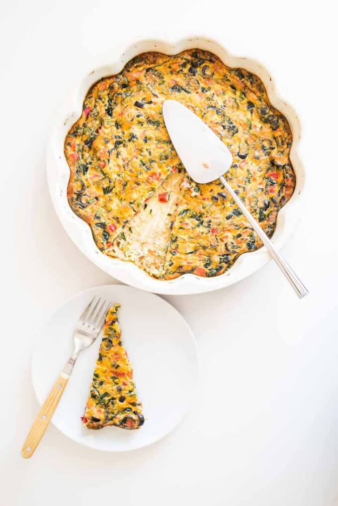 Bacon And Olive Quiche