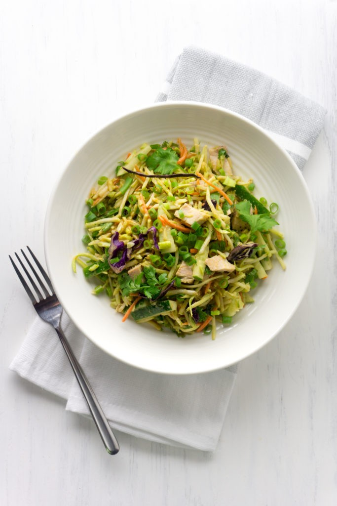 Thai Peanut Keto Chicken Salad
