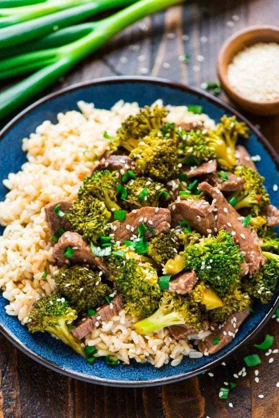 Keto Beef & Broccoli  Recipes