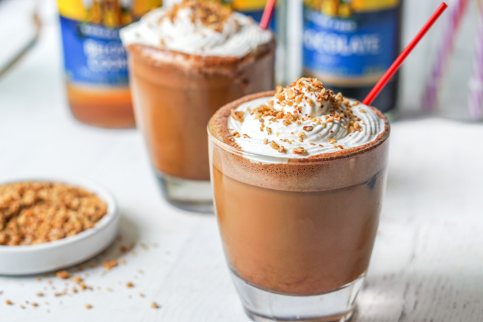S'mores Coffee Drink