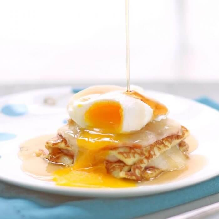 Keto Monte Cristo Breakfast Casserole
