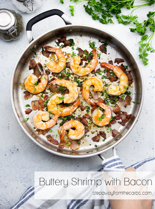 Buttery Shrimp with Bacon