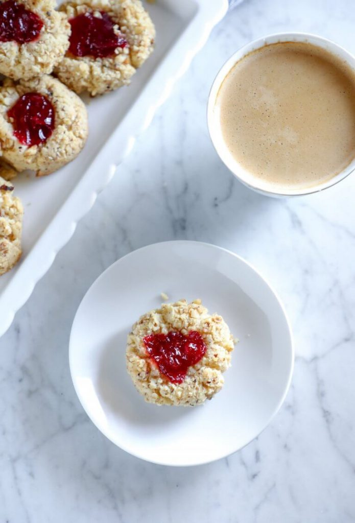 Keto Thumbprint Cookies