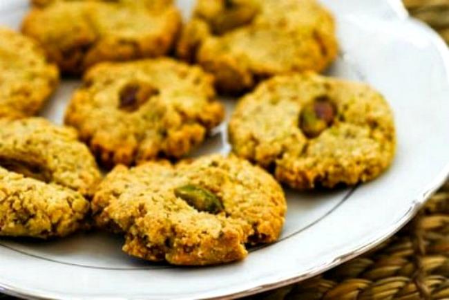 Sugar-free Pistachio Cookies