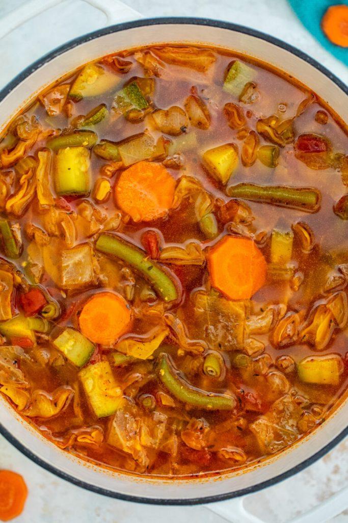 Zucchini Cabbage Soup