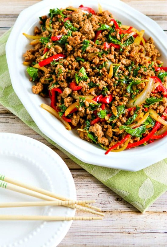 Thai Ground Turkey Stir-Fry