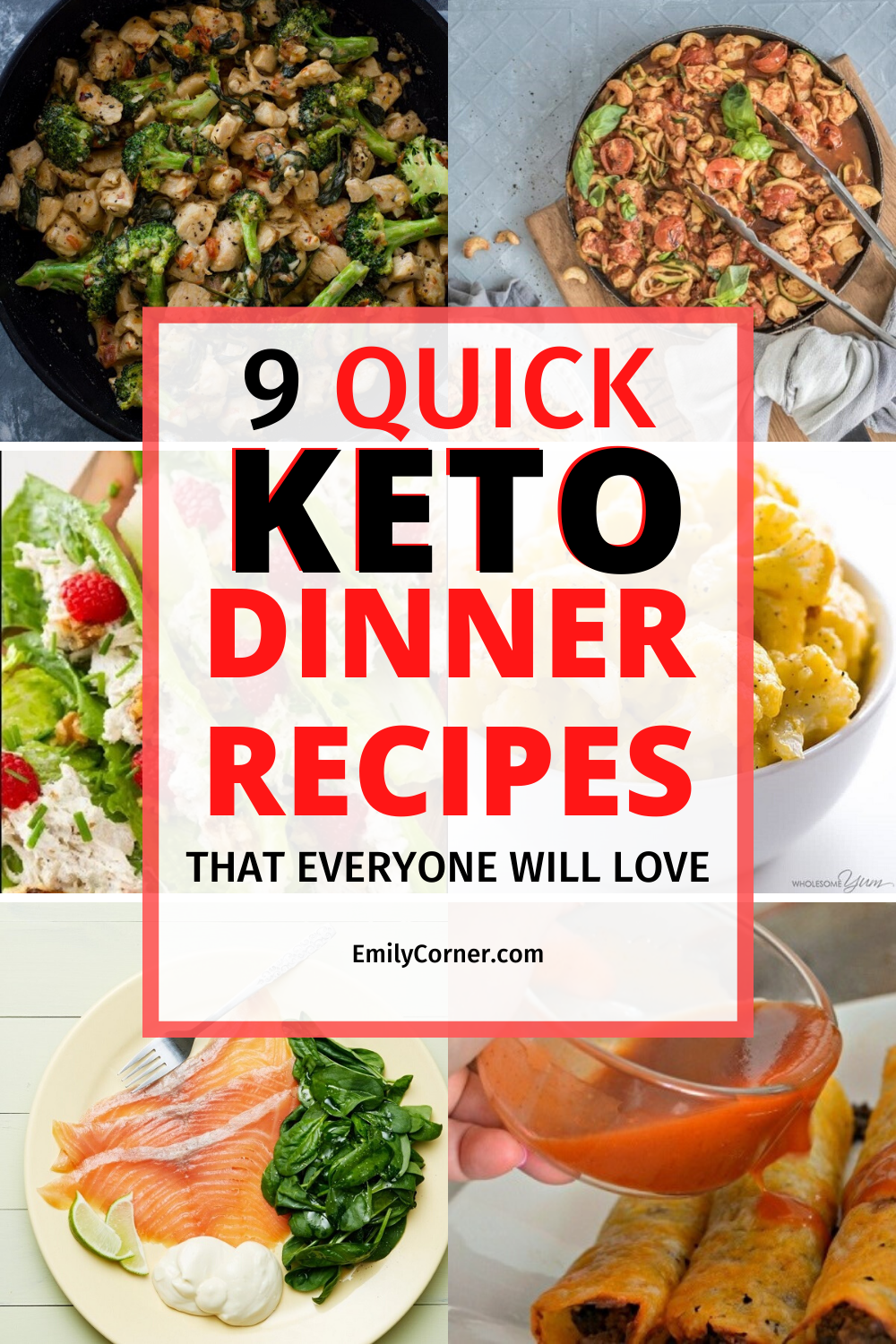 quick keto recipes for dinner
