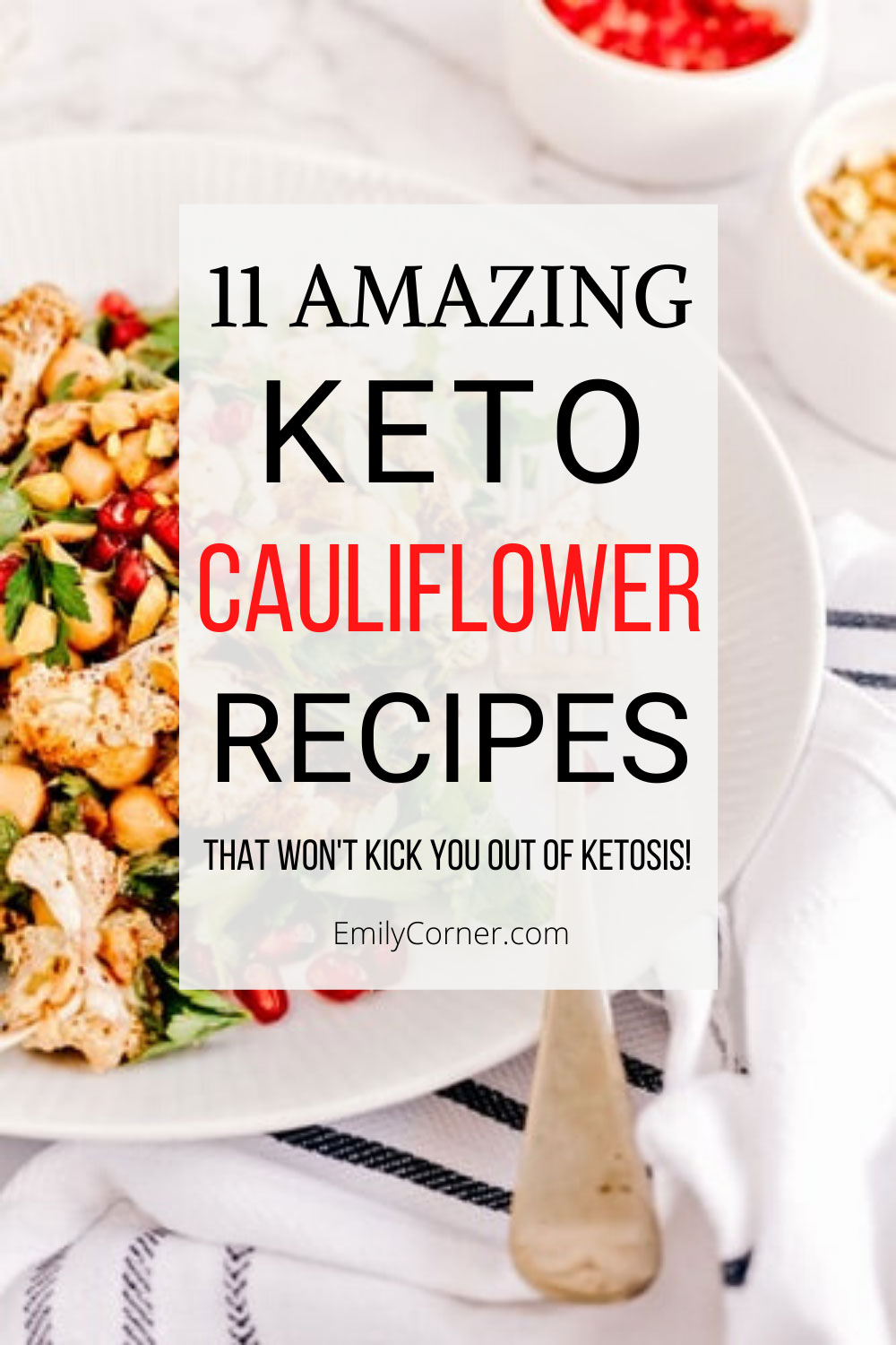 keto cauliflower recipes