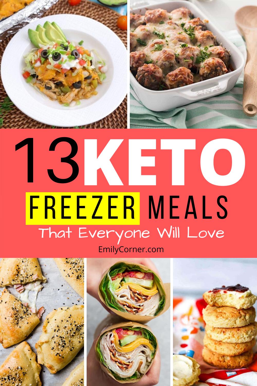 keto freezer meals